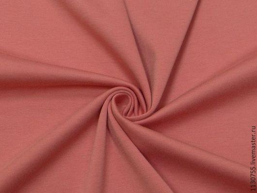 Шитье ручной работы. Ярмарка Мастеров - ручная работа. Купить Ткань трикотаж джерси  брусника 270г/кв.м. Handmade. Ткани