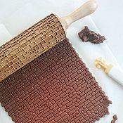 Для дома и интерьера handmade. Livemaster - original item Rolling pin pattern