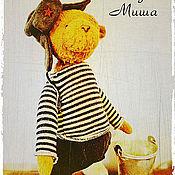 Куклы и игрушки ручной работы. Ярмарка Мастеров - ручная работа Мишка Теди Дядя Миша (есть выкройка). Handmade.