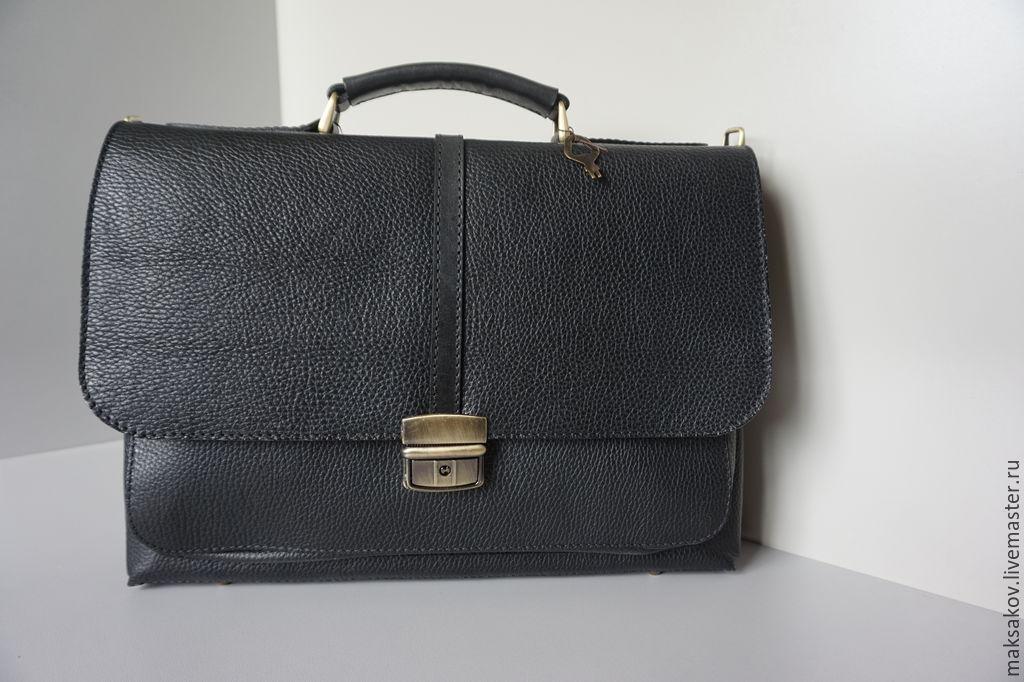 c522672e2b50 Сумки для ноутбуков ручной работы. Ярмарка Мастеров - ручная работа. Купить  Компактный портфель.