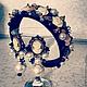 Комплекты украшений ручной работы. Ярмарка Мастеров - ручная работа. Купить Комплект в стиле D&G. Handmade. Черный, золотой, жемчуг