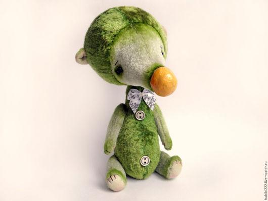 Мишки Тедди ручной работы. Ярмарка Мастеров - ручная работа. Купить Мишка Тимка. Handmade. Зеленый, bear, винтажный плюш