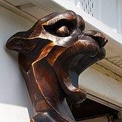 """Для дома и интерьера ручной работы. Ярмарка Мастеров - ручная работа Уличная скульптура """"Багира"""". Handmade."""