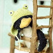 Материалы для творчества ручной работы. Ярмарка Мастеров - ручная работа Набор для создания пингвинчика. Handmade.