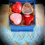 Stones handmade. Livemaster - original item Talisman of Love with the Runes on semi-precious stone heart shape. Handmade.