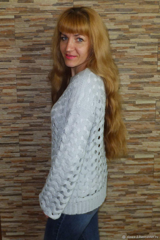 "Джемпер-сетка ""SEREBRO"", Кофты и свитера, Челябинск, Фото №1"