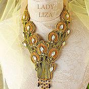Украшения handmade. Livemaster - original item Necklace handmade Modern Jewelry soutache. Handmade.