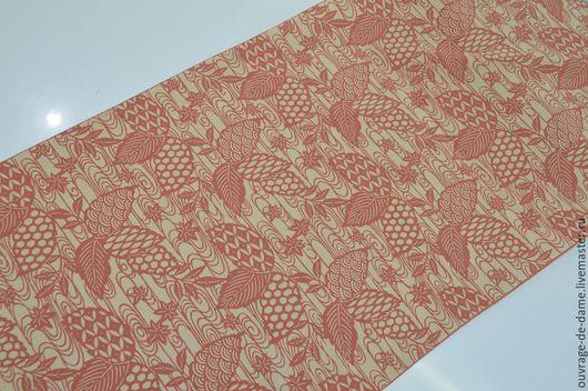 Шитье ручной работы. Ярмарка Мастеров - ручная работа. Купить Шёлк натуральный (Япония). Handmade. Розовый, платье, шелковая чесуча