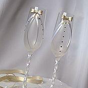 """Свадебный салон ручной работы. Ярмарка Мастеров - ручная работа Свадебные бокалы ручной работы """"Elegant"""". Handmade."""
