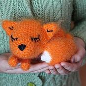 Куклы и игрушки ручной работы. Ярмарка Мастеров - ручная работа Лисенок Сеня. Handmade.