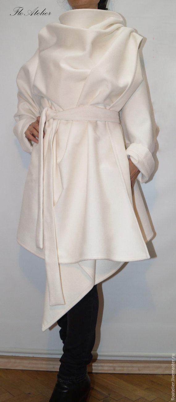 b81b305e40f Верхняя одежда ручной работы. Ярмарка Мастеров - ручная работа. Купить  Зимнее пальто с воротником ...
