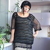 Одежда handmade. Livemaster - original item Sweatshirts-nets: Tunic