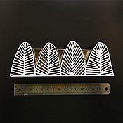 Материалы для творчества ручной работы. Ярмарка Мастеров - ручная работа WOODS штамп для набойки, печати на ткани. Handmade.