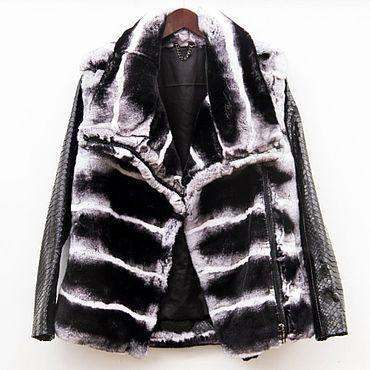 Одежда ручной работы. Ярмарка Мастеров - ручная работа Зимняя меховая куртка трансформер. Handmade.