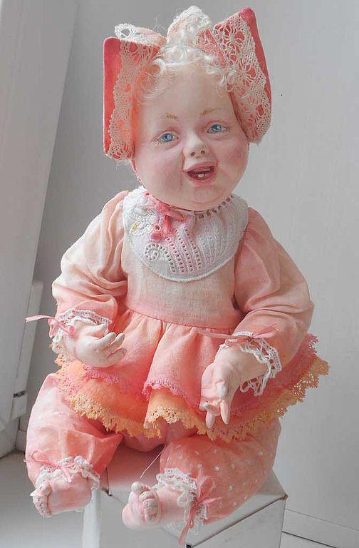"""Коллекционные куклы ручной работы. Ярмарка Мастеров - ручная работа. Купить Авторская кукла """"Манюня"""". Handmade. Игровая кукла"""