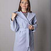 Одежда handmade. Livemaster - original item Sky coat with hood. Handmade.