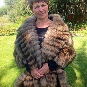 Аксессуары handmade. Livemaster - original item Raccon fur stole. Handmade.