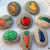"""Сувениры и подарки ручной работы. Ярмарка Мастеров - ручная работа Игровой набор """"Овощи"""". Handmade."""