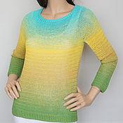 Одежда handmade. Livemaster - original item Jumper silk