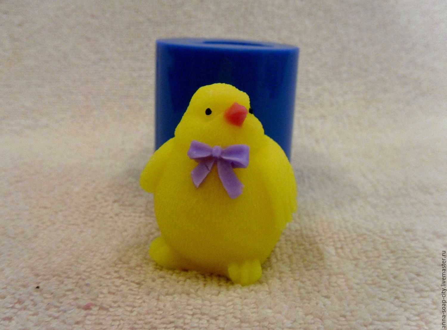 Silicone mold for soap 'Chicken', Makeup tools, Arkhangelsk,  Фото №1