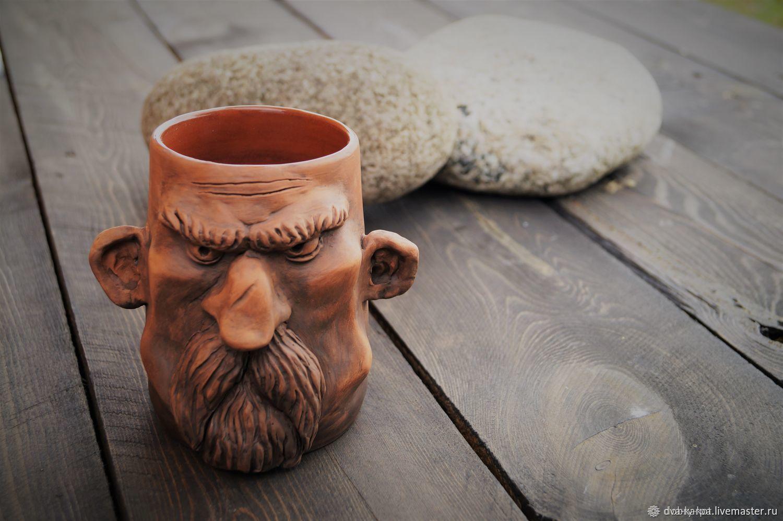 Gift solid man Mug ceramic, Mugs, Vyborg,  Фото №1