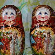 Русский стиль handmade. Livemaster - original item matreshka 5 places Russian tales. Handmade.