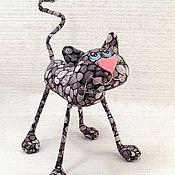 Куклы и игрушки ручной работы. Ярмарка Мастеров - ручная работа Кот морской, галечный )). Handmade.