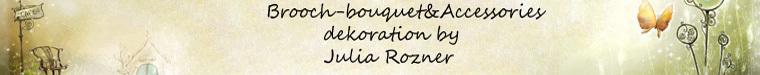 Брошь букеты от Рознер Юлии