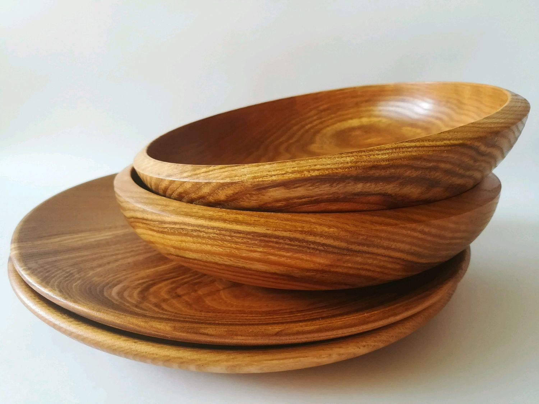 посуда из дерева картинки каждые