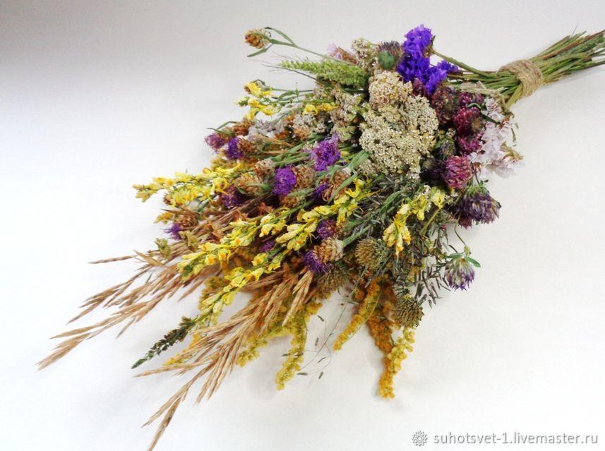 Букет из луговых сухоцветов, Букеты, Грайворон,  Фото №1