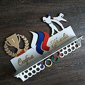 Спортивные сувениры ручной работы. Ярмарка Мастеров - ручная работа Медальница. Handmade.