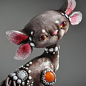 Подарки к праздникам handmade. Livemaster - original item Tokida. Cat race. Handmade.