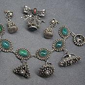 Уникальный комплект серебро