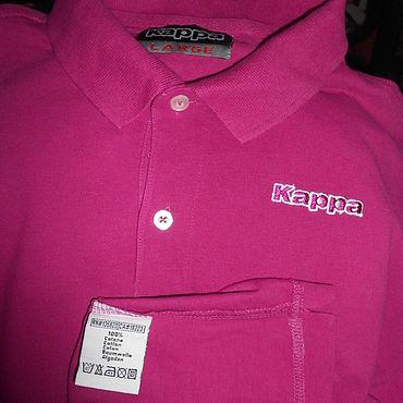 Одежда ручной работы. Ярмарка Мастеров - ручная работа KAPPA футболка поло мужская 52-54. Handmade.