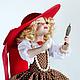 Коллекционные куклы ручной работы. Ярмарка Мастеров - ручная работа. Купить Маленькая модница. Handmade. Кукла ручной работы, подарок