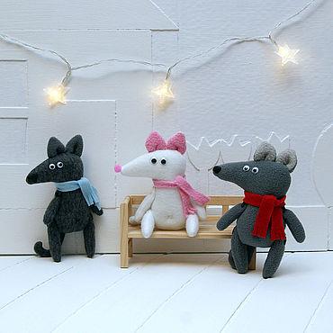 Dolls & toys handmade. Livemaster - original item Little mouse rats. Handmade.