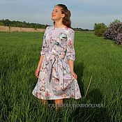 Одежда handmade. Livemaster - original item Dress made of cotton sateen