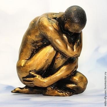 Косметика ручной работы. Ярмарка Мастеров - ручная работа Мыло Атлет 3D большой, сувенирное мыло ручной работы. Handmade.