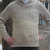 Одежда handmade. Livemaster - original item Men`s pullover. Handmade.