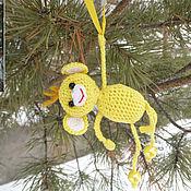 """Куклы и игрушки ручной работы. Ярмарка Мастеров - ручная работа Вязаная игрушка """"Обезьянка"""". Handmade."""