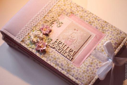 Для новорожденных, ручной работы. Ярмарка Мастеров - ручная работа. Купить Альбом для девочки на первый год (Зайка Ми). Handmade.