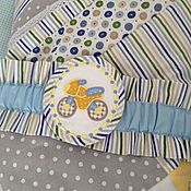 Работы для детей, ручной работы. Ярмарка Мастеров - ручная работа Одеяло - Конверт на выписку с резинкой-подвязом и уголком. Handmade.