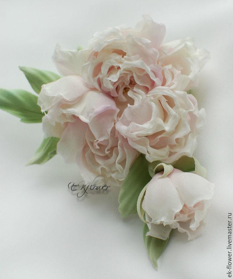 Silk flowers fabric flowers rose melissa shop online on flowers handmade livemaster handmade buy silk flowers fabric flowers mightylinksfo
