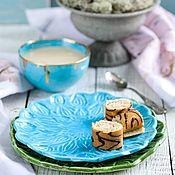 Наборы посуды ручной работы. Ярмарка Мастеров - ручная работа Голубая лагуна. Handmade.