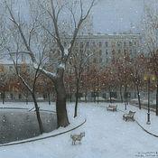 Картины и панно handmade. Livemaster - original item Online store posters Moscow Chistye Prudy. Handmade.