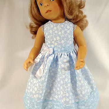 Куклы и игрушки ручной работы. Ярмарка Мастеров - ручная работа Одежда для кукол: Платье для кукол Минуш, Паола Рейна.. Handmade.
