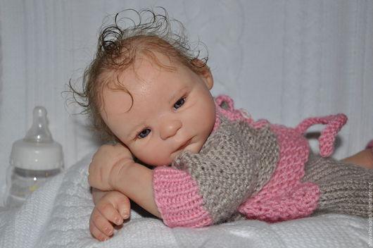 Куклы-младенцы и reborn ручной работы. Ярмарка Мастеров - ручная работа. Купить Кукла мини - реборн Морин. Handmade. Разноцветный