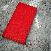 Сумки и аксессуары handmade. Livemaster - original item Wallet genuine Python skin. Handmade.
