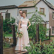 Свадебный салон ручной работы. Ярмарка Мастеров - ручная работа Свадебное платье для Саши. Handmade.