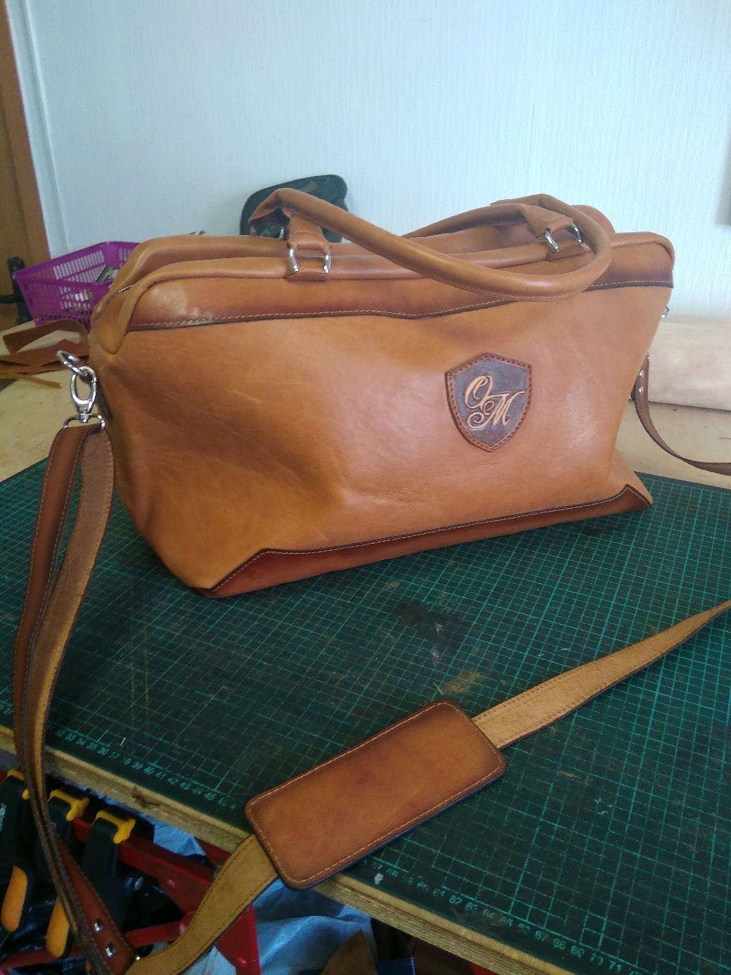 Сумка для спорта и путешествий из натуральной кожи, Спортивная сумка, Рязань,  Фото №1